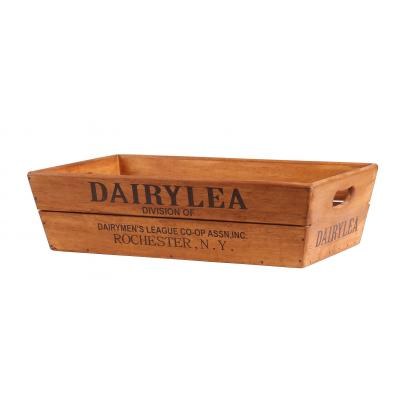 Large Vintage Style Wooden Flower Box - Dairylea