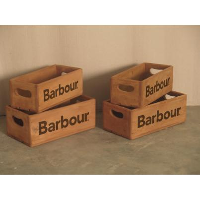 Set of 4 Rectangular Boxes - Barbour