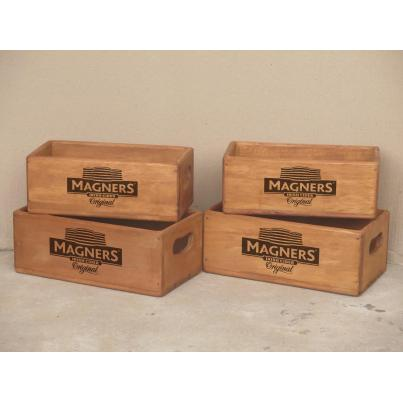 Set of 4 Rectangular Boxes - Magners