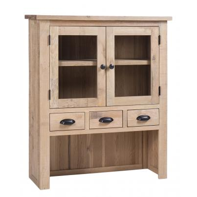 Hutch with 4 Drawers &  2 Doors