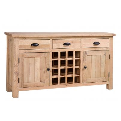 3 Drawer 2 Door Wine Table