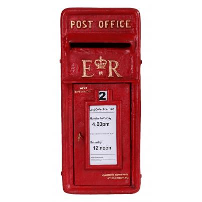 Royal Mail Post Box Wall Mount