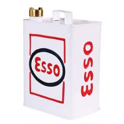 Esso Can White