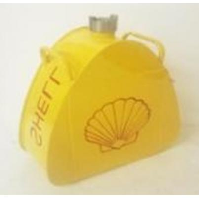 Shell Logo Triangle Can