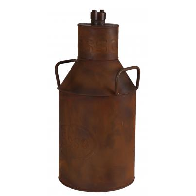 Esso Milk Can Rustic