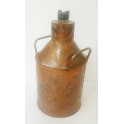 Castrol Milk Can Rustic