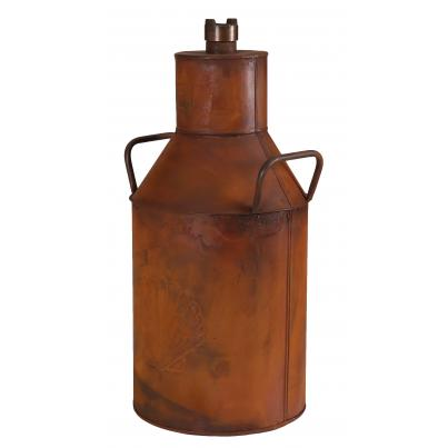 Shell Milk Can Rustic