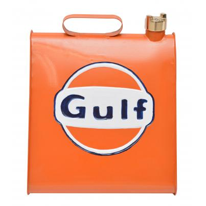 Gulf Triangular Shape Coloured Oil Can