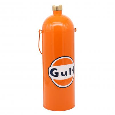 Gulf Oil Bottle Colured