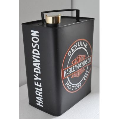 Harley Davidson Oil Can Coloured