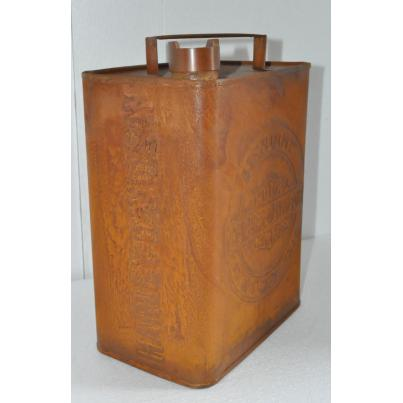 Harley Davidson Oil Can Rustic