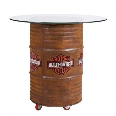 Harley Davidson Rustic Table