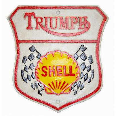 Triumph and Shell Plaque