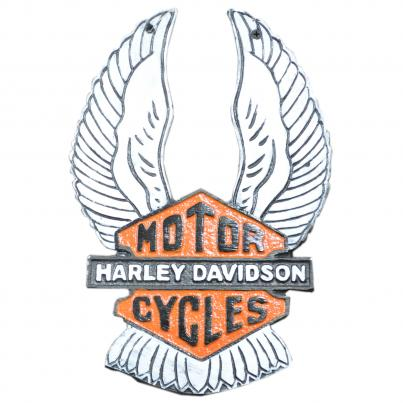 Harley Davidson Wings Plaque