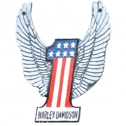 Harley Davidson Number One Plaque