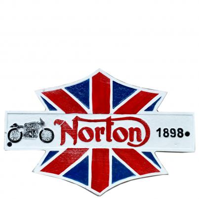 Norton 1898 Plaque