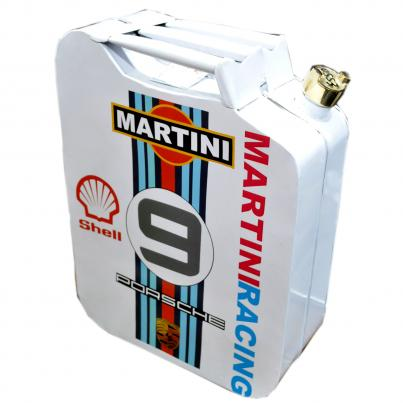 Martini 9 with Shell / Porsche Oil Can