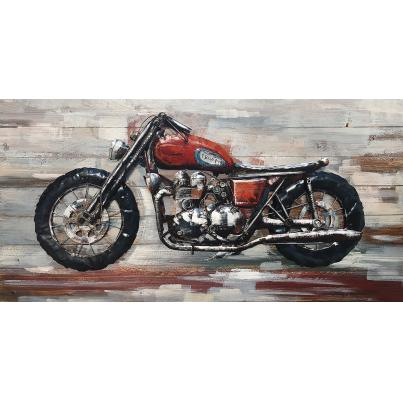 3D Triumph  Painting on Wood