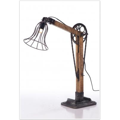 Vintage Bicycle Chain Table Lamp