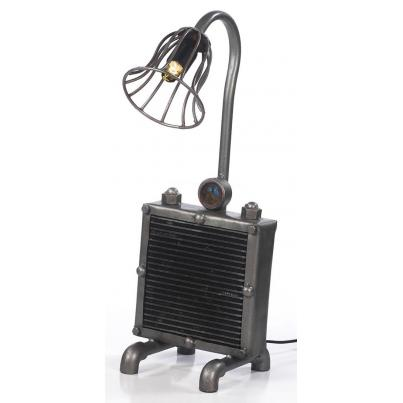Upcycled Radiator Table Lamp