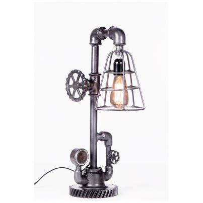 Iron Cage Table Lamp