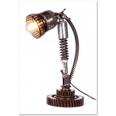 Iron Cog Table Lamp