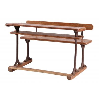 Old Fashioned School Bench