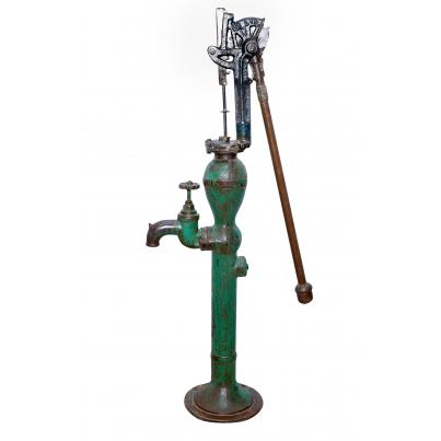 Reclaimed Decorative Water Pump
