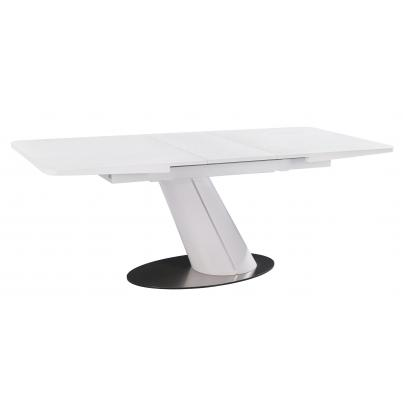 Sand Blasted White Counter Balance Table