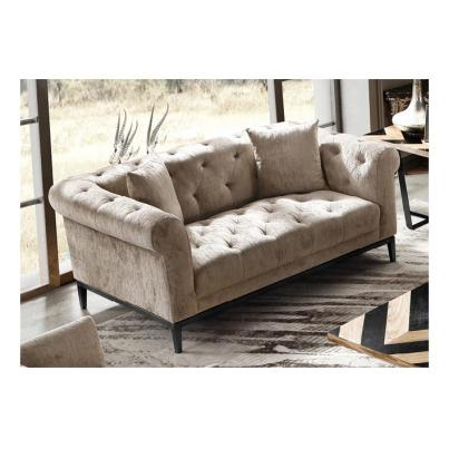 Harlow Tufted 2-Seated Sofa