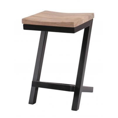 Sandblasted Grey Counter Balance Stool
