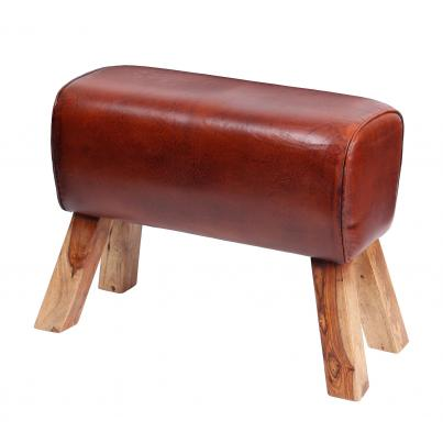 Leather Pommel Horse Stool