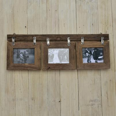 Hanging Set Of 3 Photo Frames