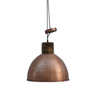 Copper Coloured Pendant Ceiling Light