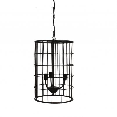 Caged Pendant Ceiling Light