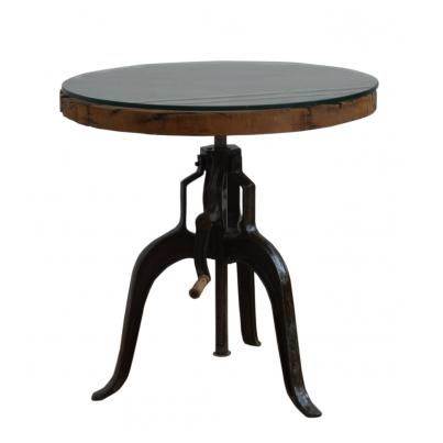 Adjustable Round Table