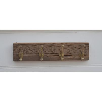 Reclaimed Timber 4 Coat Hooks
