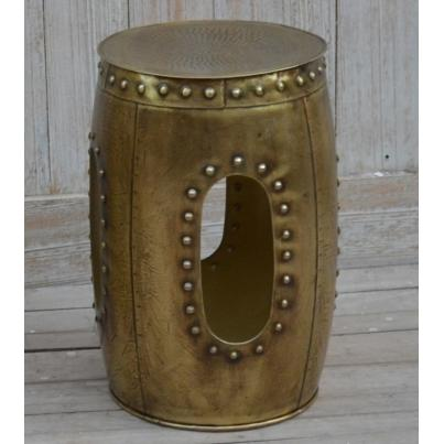 Small Decorative Metal Stool