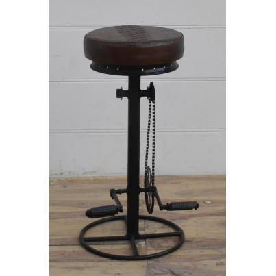 Adjustable Iron Bar Stool
