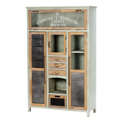 Cabinet with 4 Doors & 4 Drawers