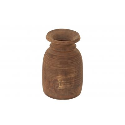 Large Vintage Wooden Pot Assorted