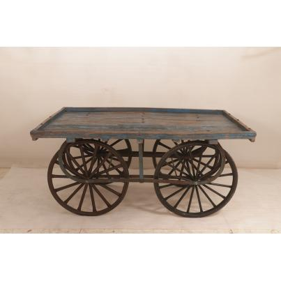 Original Vintage Wooden Cart