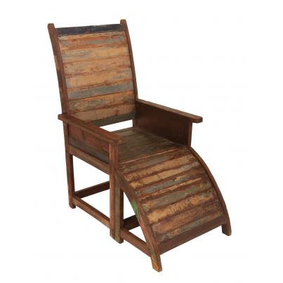 Reclaimed Wood Relaxer Chair