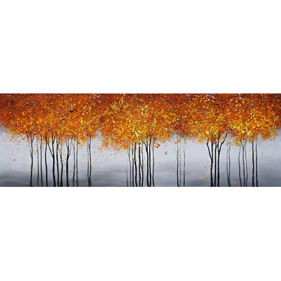 Autumnal Tree Scape Canvas