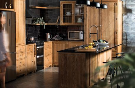 Handmade Oak Kitchens